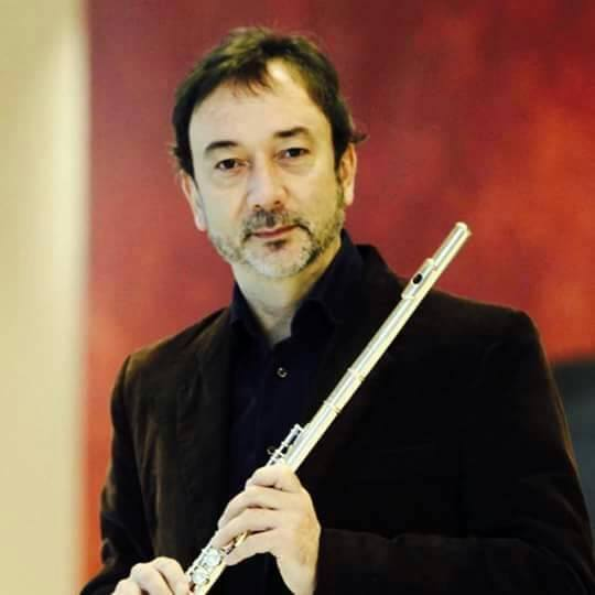 Horacio Parravicini, internationally acclaimed flutist
