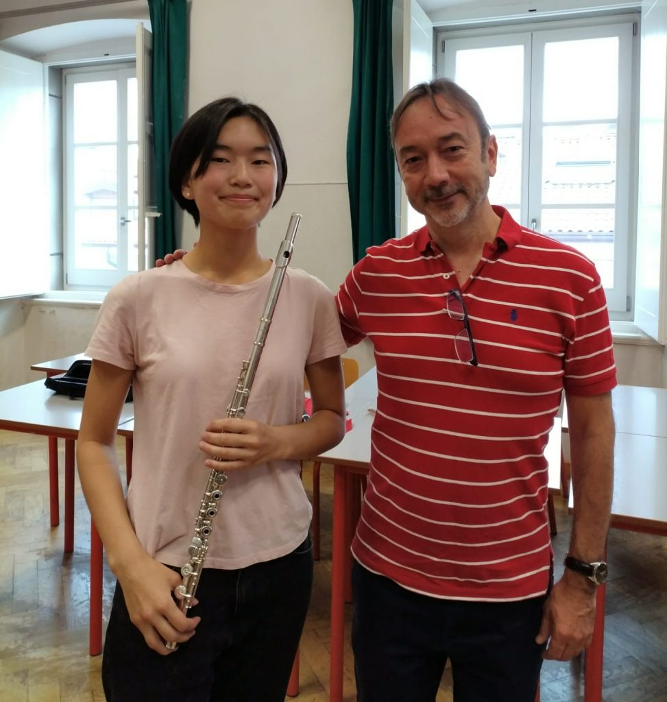 After the masterclass with a great young flutist Sofia Alexeeva from Kazan